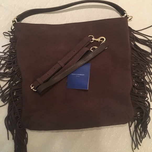 Rebecca Minkoff Handbags - Rebecca Minkoff Fringed Hobo/Shoulder Bag